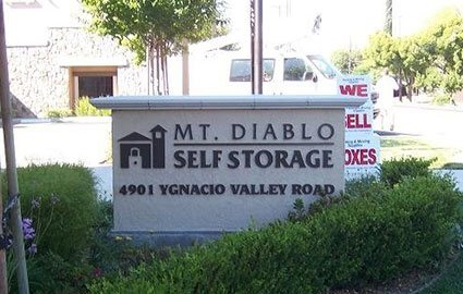 Mt Diablo Storage