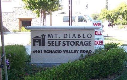 Mt Diablo Storage Concord
